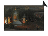 Illustration to the Ramayana, circa 1750-1760 Prints by Mir Kalan Oudh