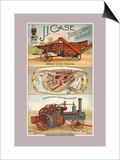 J.I. Case Threshing Machine Co., Racine, Wisconsin Print