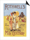Rothwell's Milk Chocolate Art