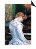 The Sonata Art by Childe Hassam