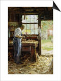 Village Carpenter, 1899 Posters by Edward Henry Potthast