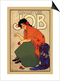 Cigarettes Job Art by Alphonse Mucha
