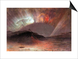 Aurora Borealis Posters by Frederic Edwin Church