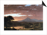 Mount Ktaadn (Katahdin) Prints by Frederic Edwin Church