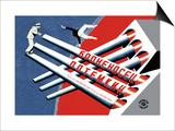 Le cuirassé Potemkine Posters par  Stenberg Brothers