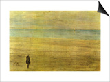 Harmony in Blue and Silver - Trouville Posters by James Abbott McNeill Whistler