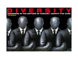 Mangfoldighed, på engelsk Posters