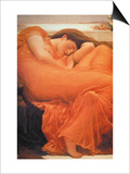 Flaming June Print by Frederick Leighton