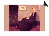 Whistler's Mother Poster by James Abbott McNeill Whistler