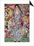 Portrait of Frederika Maria Beer Láminas por Gustav Klimt