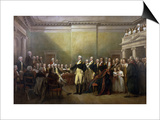 George Washington Resigning His Commission Prints by John Trumbull