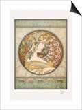 Laurel Posters by Alphonse Mucha