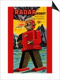Radar Robot Posters