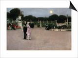 In the Luxembourg Gardens Poster von John Singer Sargent