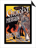 Masson: Chocolat Mexicain Poster by Eugene Grasset