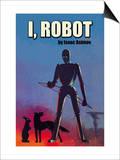 I, Robot Print by Isaac Asimov