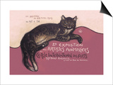 Exposition des Artistes Animaliers Posters by Théophile Alexandre Steinlen