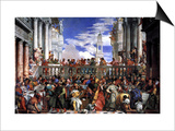 The Marriage at Cana Poster von Paolo Veronese