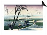 Ejiri in Suruga Province Prints by Katsushika Hokusai
