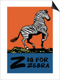 Z is for Zebra Prints by Charles Buckles Falls