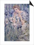 Fleur De Lys Poster by Robert Payton Reid