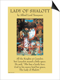 Lady of Shalott Posters
