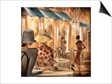 Bistro du Paradou Prints by Trish Biddle