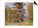 Early Autumn Prints by John Joseph Enneking