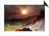 Coast Scene, Mount Desert Posters by Frederic Edwin Church