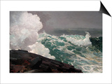 Northeaster Prints by Winslow Homer