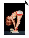 Wink Magazine, på en vægt Kunst af Peter Driben