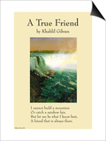 On Friendship - a True Friend From the Prophet Posters