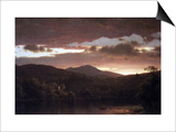 Twilight (Catskill Mountain) Art by Frederic Edwin Church