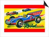 Rocket Racer Posters
