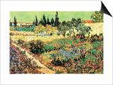 Flowering Garden Posters by Vincent van Gogh