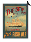 The Ship Inn Posters by Martin Wiscombe
