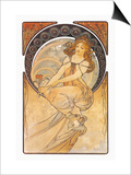 Painting Posters by Alphonse Mucha
