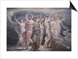 The Pleiades - Seven Sisters Posters by Elihu Vedder