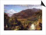 Heart of the Andes Posters by Frederic Edwin Church