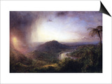 The Valley of St. Thomas, Jamaica Posters by Frederic Edwin Church