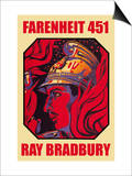 Farenheit 451 Prints by Ray Bradbury