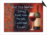Red Wine Selection Prints by Will Rafuse