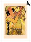 Salome Print by Alphonse Mucha