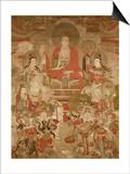 Buddhas, 1675 Print