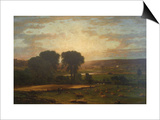 Peace and Plenty Art by George Inness