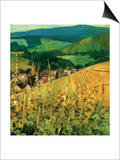 Riquewihr Posters by Philip Craig