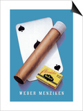 Weber Menziken Cigars Prints by Niklaus Stoecklin
