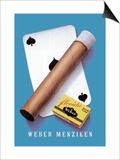 Weber Menziken Cigars Art by Niklaus Stoecklin