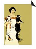Springtime Felines Prints by Edward Penfield