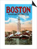 Boston Massachusetts Prints
